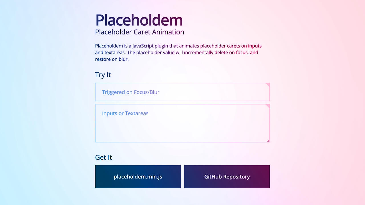 Screenshot of Placeholdem